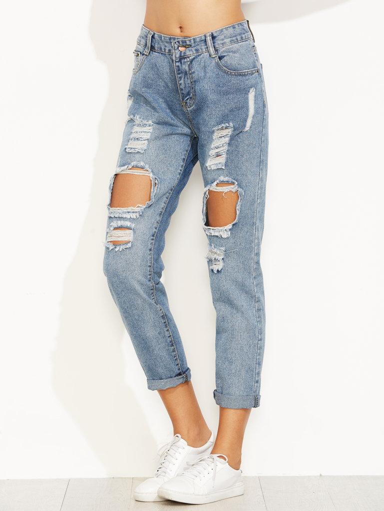 Cuffed Style Pants