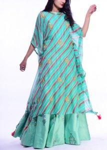 indo western kurtis design