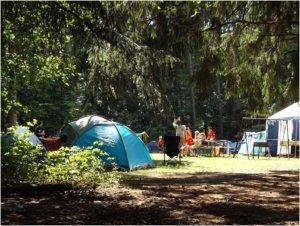 Family Camping In NY