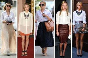 Stylish Ways to a white shirt