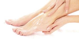 Moisturize foot